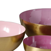 Painted Metal Minella Bowls in 3 Sizes