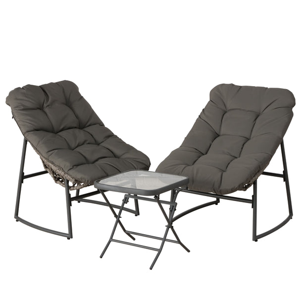 Puffy 3 Piece Furniture Set