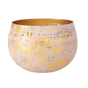 Nanja Windlight Gold Bowls