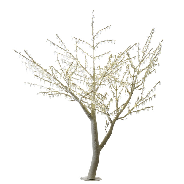 Droplet & LED Outdoor Decorative Tree 2.1M