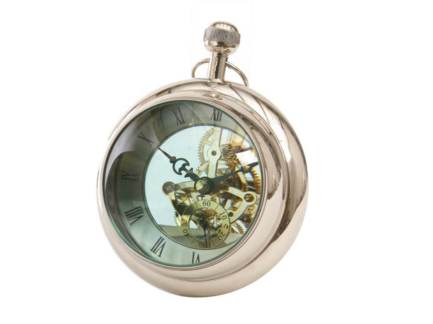 Large Paperweight Clock