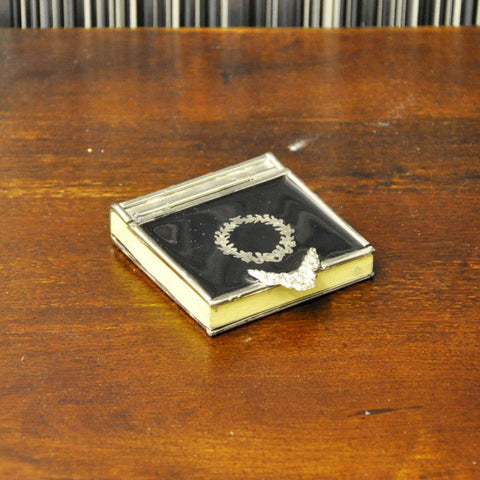Pocket Book with Metal Detail Wreath