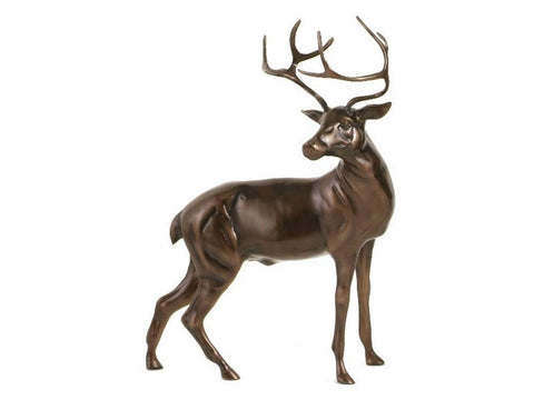 Large Stag Statue