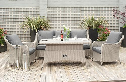 Antigua Relaxed Outdoor Dining Set