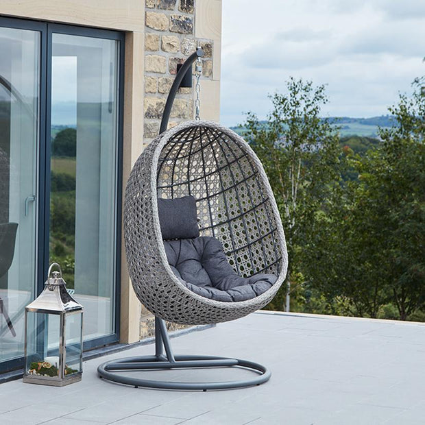 Hampstead Hanging Chair - Grey
