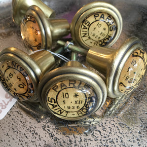 Cupboard Knob - Paris Saint Roch - Allissias Attic  &  Vintage French Style