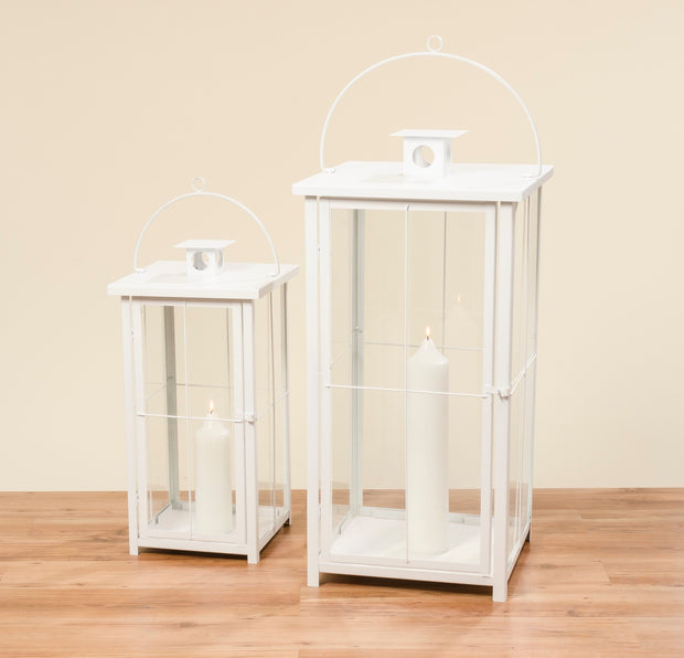 Arizone Lanterns - White - Set of 2