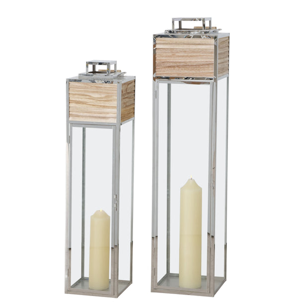 Contemporary Lanterns - Set of 2