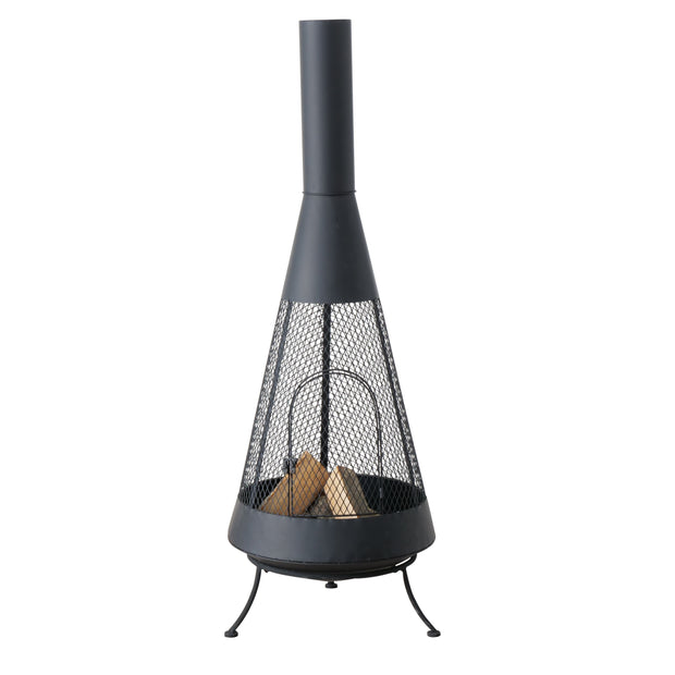 Fire Basket with Chimney