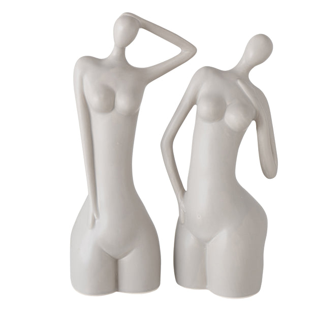 Modern Woman Sculpture Set