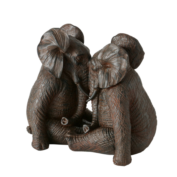 Sitting Elephants Décor