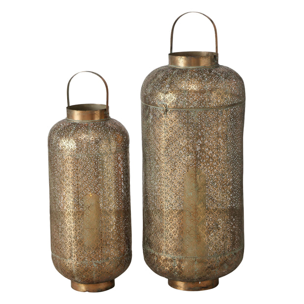 Olio Lantern - Bronze - Set of 2