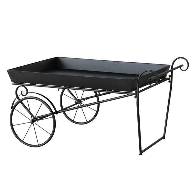 Metal Trolley Planter