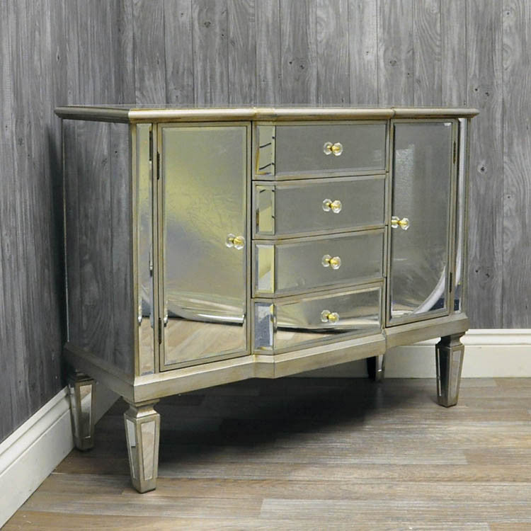 Venetian Glass Sideboard - Allissias Attic  &  Vintage French Style - 2