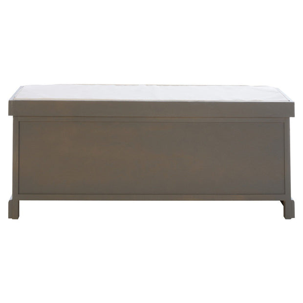 Heritage 3 Drawer Storage Bench - Slate Grey