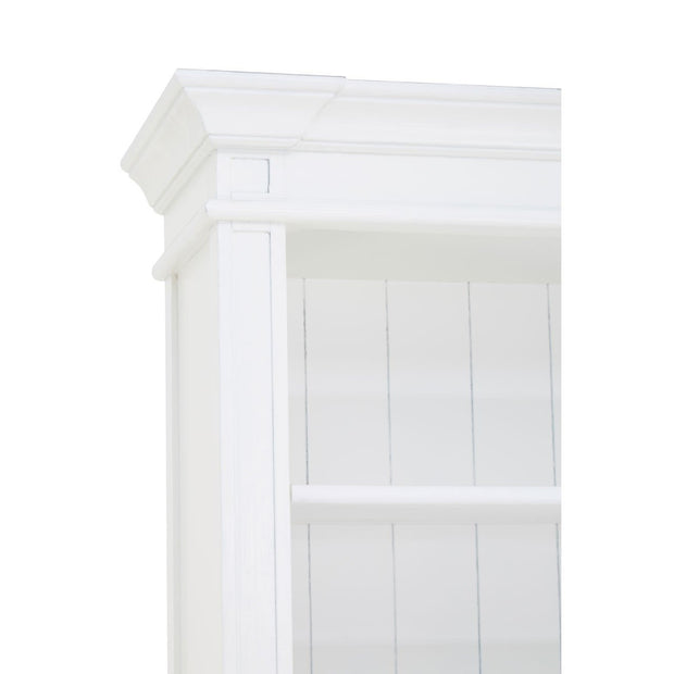Hamptons White Ladder Bookcase or Shelf Unit