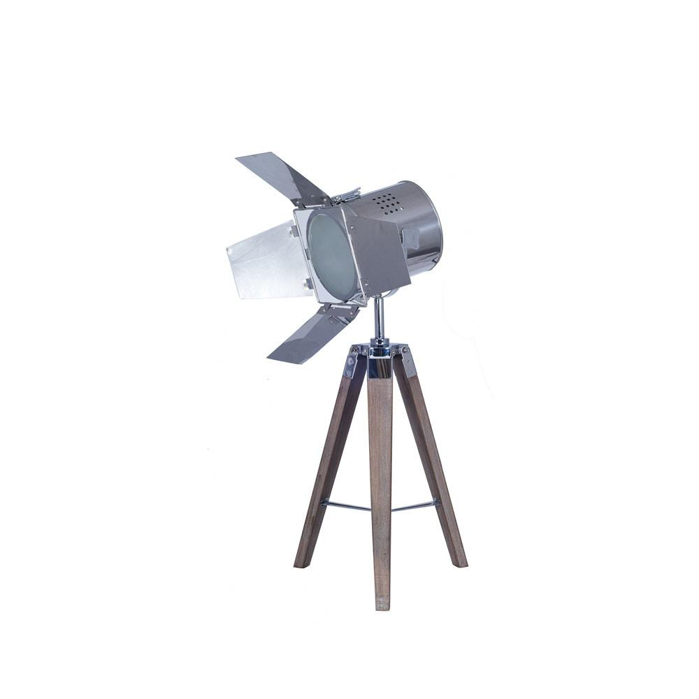 Tripod Film Light Tripod Table Lamp - Allissias Attic  &  Vintage French Style - 1