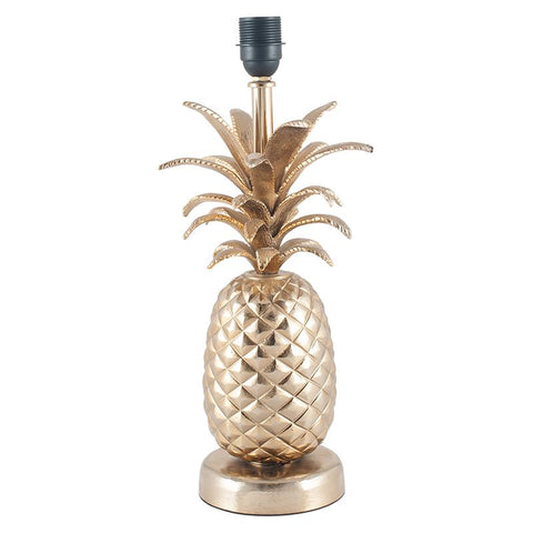 Pineapple Table Lamp - Silver