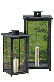 Arizone Lanterns - Grey - Set of 2