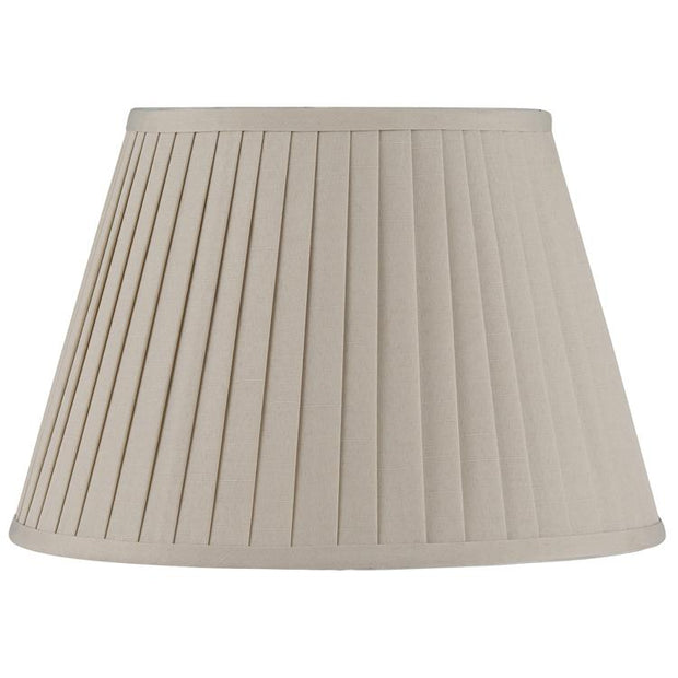 Lamp Shade -Various Sizes & Colours - Pleated Tapered