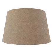Lamp Shade -Various Sizes & Colours - Heavy Textured Natural Tapered Cylinder