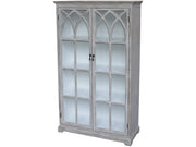 Display Cabinet with Church Styled Doors