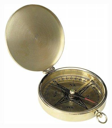 Large Hand Held Pocket Compass