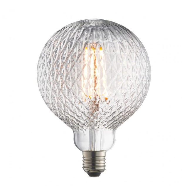 Glass Bulb with Facet Design