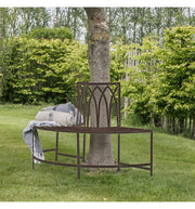 Albert Outdoor Tree Bench Seat - Ember