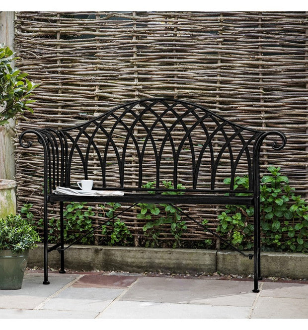 Duchess Outdoor Bench - Noir