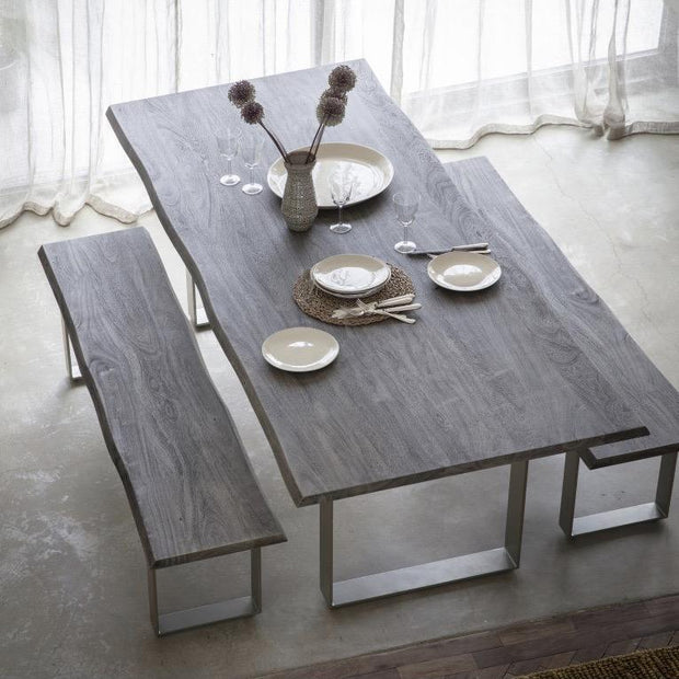 Huntington Dining Table Grey and or Bench