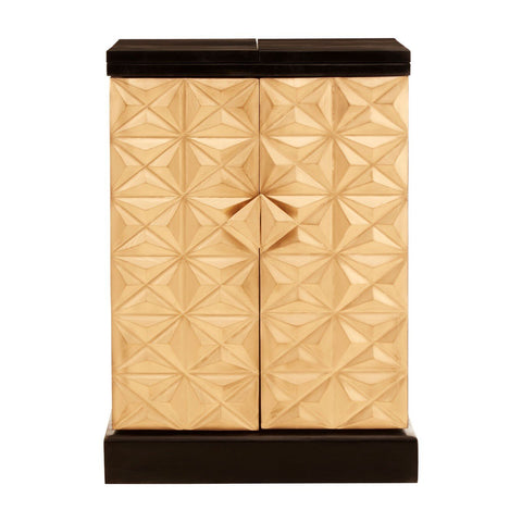 Gold Toned Geometric Bar Unit