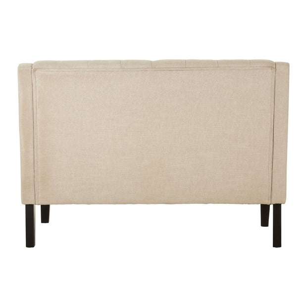High Back Buttoned Bench Seat