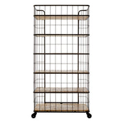 Industrial Crest 6 Rack Shelf Unit