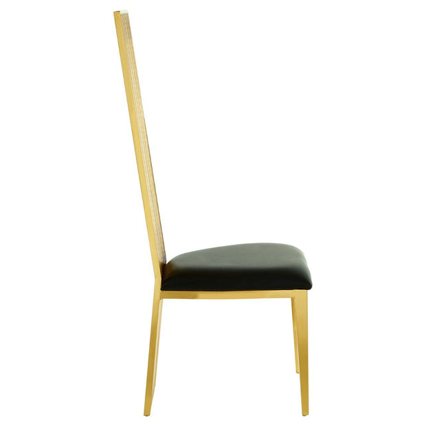 Eliza Dining Chair - Gold - Set of 2