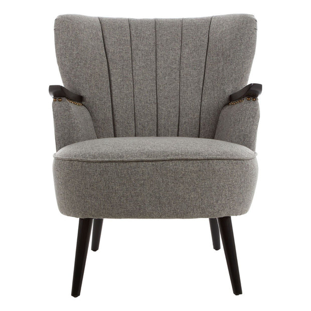 Hampstead Fabric Armchair -  Grey