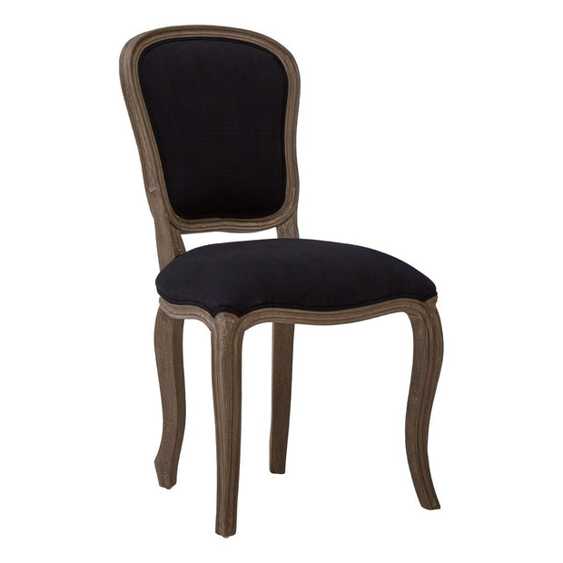 Black French Dining Chair - Set of 2