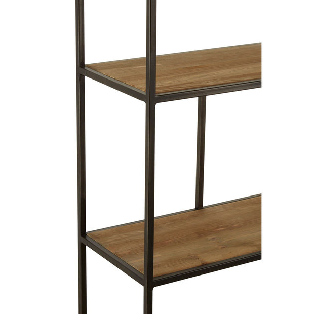 Timber & Iron Shelf Unit