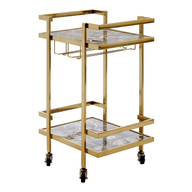 Black Agate Drinks Trolley