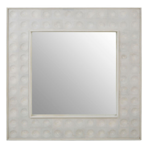 Dimpled Square Wall Mirror