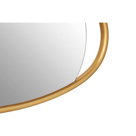 Oval Gold Wall Mirror - Small