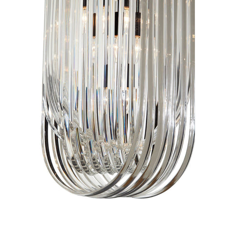 Crystal Ribbon Pendant Light