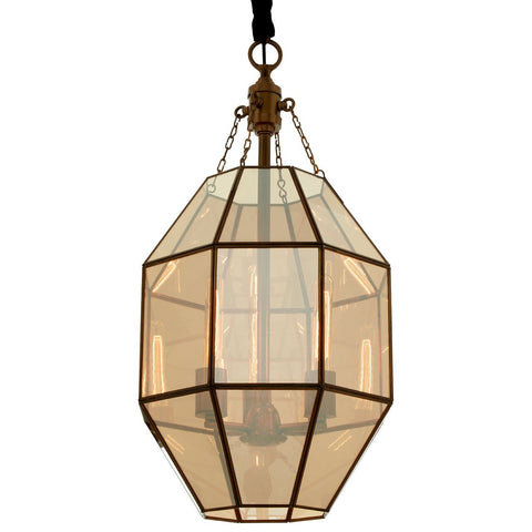 Polygonal Pendant Light