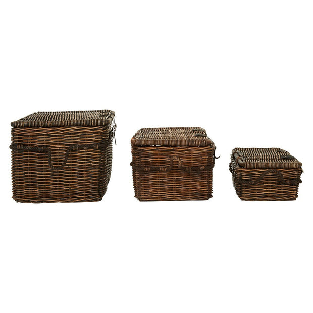 Kubu Rattan Baskets - Set of 3