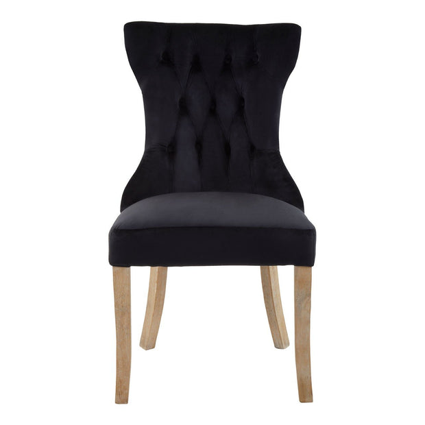 Townhouse Dining Chair - Black - Set of 2