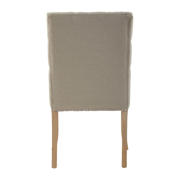 Townhouse Dining Chair - Natural Linen - Set of 2