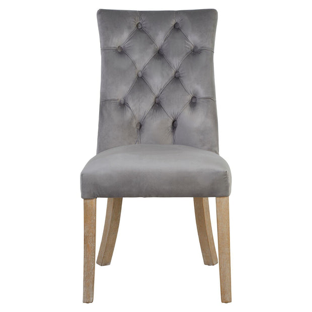 South Dining Chair - Grey - Set of 2