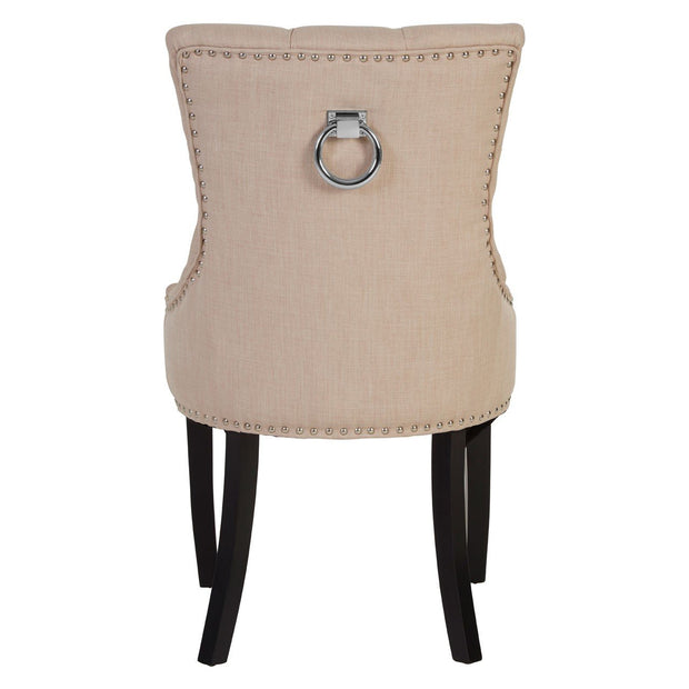 Fifty-Five South Linen Dining Chair - Natural - Set of 2