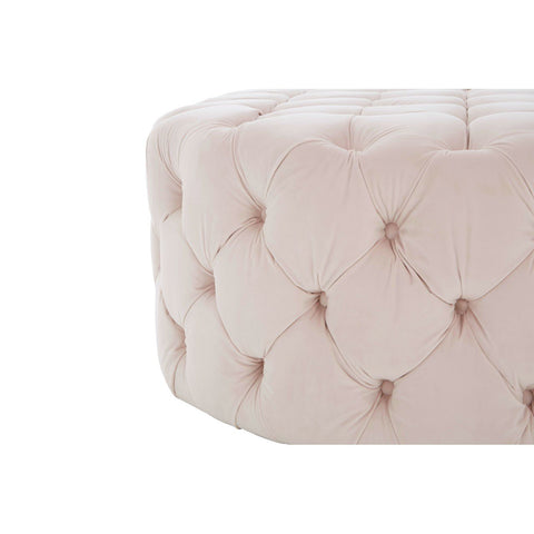 Round Buttoned Ottoman