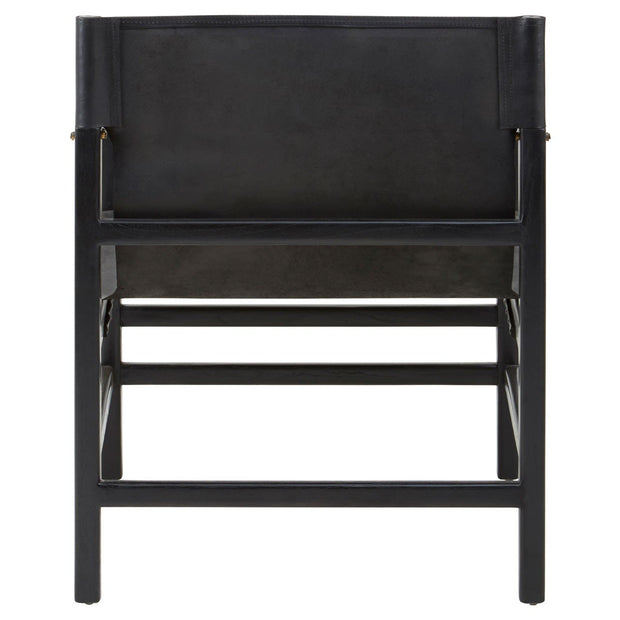 Kendari Straight Chair - Black
